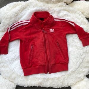 BOGO Play Condition Adidas Red Sweatshirt